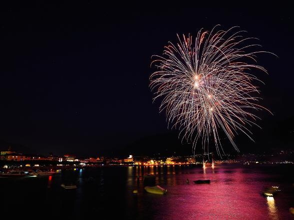Feuerwerk Ascona