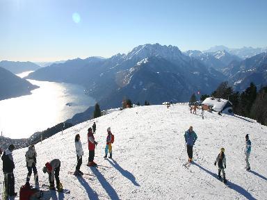 Skifahren ascona