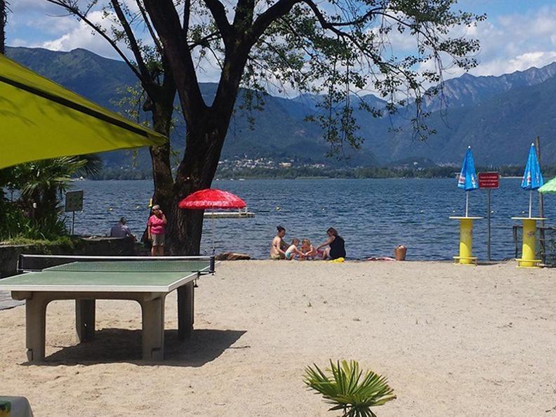 Ascona locarno scoprite la dolce vita bagno spiaggia - Bagno pubblico ascona ...