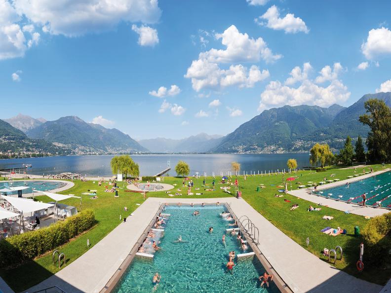 Ascona locarno scoprite la dolce vita un tuffo in acqua - Bagno pubblico ascona ...